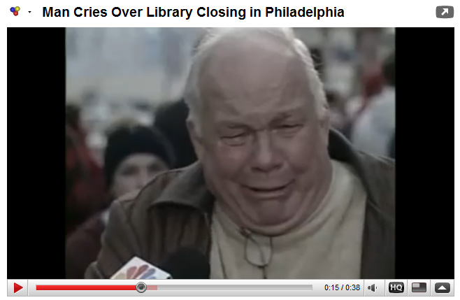 man-cry-library