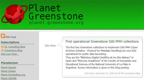 greenstone-library