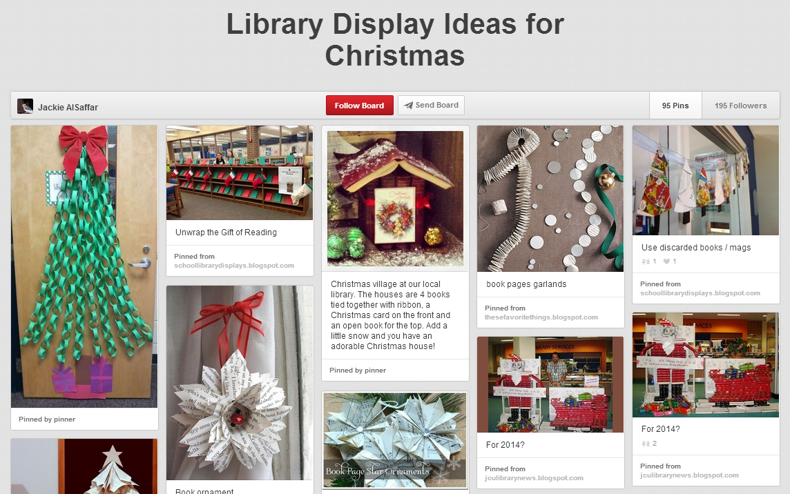 Library Display Ideas for Christmas3