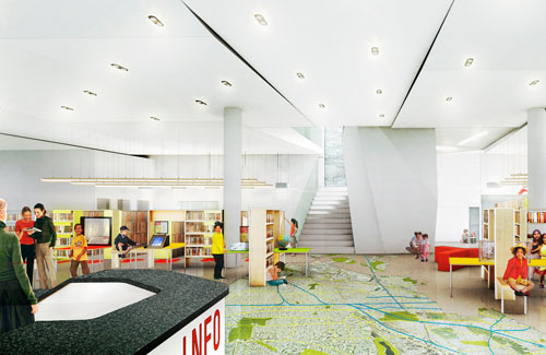 The Children's Library Discovery Center by 1100 Architect